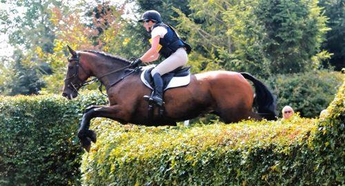 Katie at Aston Le Walls Equestrian Centre feature image